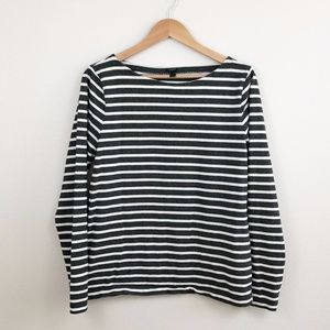 J. Crew Sailor Striped Long Sleeve Shirt
